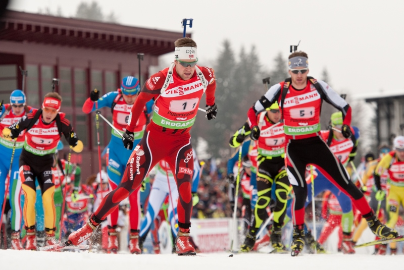 Biathlon Worldcup in Hochfilzen 2015